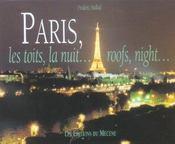 Paris Les Toits, La Nuit Roofs, Night. - Intérieur - Format classique