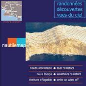 Les calanques ; carte de randonnées 3D - 4ème de couverture - Format classique