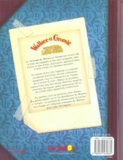 Wallace Et Gromit ; Le Mystere Du Lapin-Garou ; Journal Anti-Pesto - 4ème de couverture - Format classique