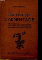 Traite Pratique D'Arpentage - Couverture - Format classique