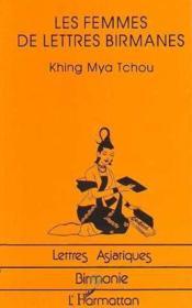 Les Femmes De Lettres Birmanes - Couverture - Format classique