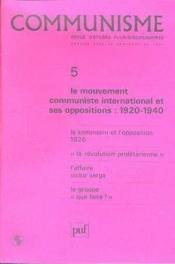 C5 Communisme 1984 - Couverture - Format classique
