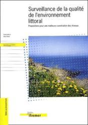 Surveillance de la qualite de l'environnement littoral - propositions pour une m - Couverture - Format classique