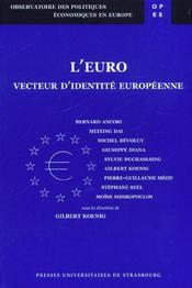 L'Euro Vecteur De L'Identite Europeenne - Intérieur - Format classique