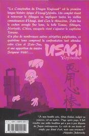 Usagi Yojimbo T.4 - 4ème de couverture - Format classique