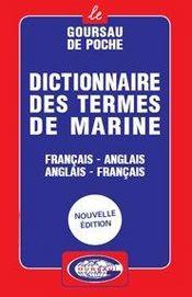 Dictionnaire des termes de marine ; francais-anglais/anglais-francais - Intérieur - Format classique