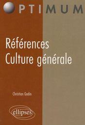 Références culture générale - Intérieur - Format classique