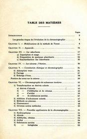 Progrés récents de la chromatographie - Intérieur - Format classique