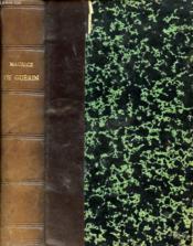 MAURICE DE GUERIN Lettres et Poèmes de Maurice de Guérin. - Couverture - Format classique