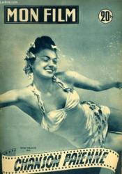 Mon Film N° 299 - Chanson Paiennee - Couverture - Format classique
