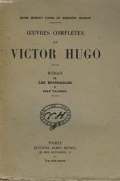 Oeuvres Completes De Victor Hugo - Roman Ix - Les Miserables V - Jean Valjean - Couverture - Format classique