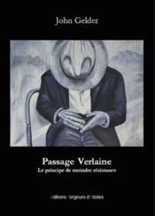 Passage verlaine - Couverture - Format classique