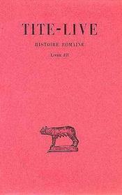 Histoire romaine t.3 ; L3 - Intérieur - Format classique