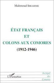 État français et colons aux Comores, 1912-1946 - Intérieur - Format classique