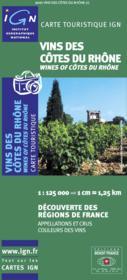 Vins des cotes du Rhône - Couverture - Format classique