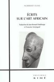 Ecrits sur l'art africain - Intérieur - Format classique