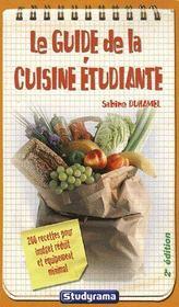 Le guide de la cuisine étudiante (édition 2006) - Intérieur - Format classique