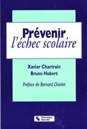 Prevenir L'Echec Scolaire - Intérieur - Format classique