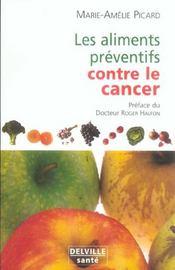 Les aliments préventifs contre le cancer - Intérieur - Format classique