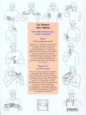 La langue des signes t.2 - 4ème de couverture - Format classique