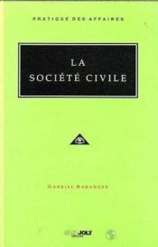 La societe civile - Couverture - Format classique