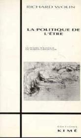 Politique De L'Etre (La) - Couverture - Format classique