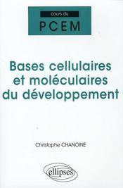 Bases cellulaires et moléculaires du développement - Intérieur - Format classique