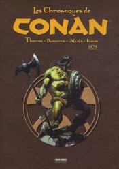 Les chroniques de Conan t.2 ; 1975 - Couverture - Format classique