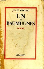 Un De Baumugnes. - Couverture - Format classique