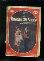 Le Chasseur De Chez Maxim S. - Couverture - Format classique