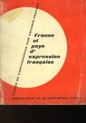 France Et Pays D'Expression Francaise - Couverture - Format classique
