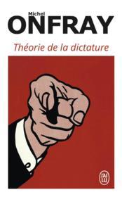 Théorie de la dictature - Couverture - Format classique