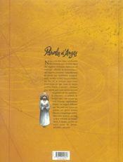 Paroles d'anges - 4ème de couverture - Format classique