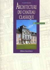 Architecture du chateau classique - Intérieur - Format classique