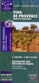 Vins de Provence - Couverture - Format classique