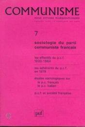 C7 Communisme 1985 - Couverture - Format classique