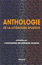 Anthologie de la littérature sportive - Intérieur - Format classique