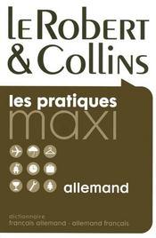 Dictionnaire maxi Robert & Collins ; français-allemand / allemand-français - Intérieur - Format classique