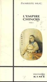 Empire chinois t.1 - Couverture - Format classique