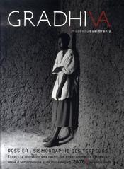 Gradhiva N.5 ; Sismographie Des Terreurs ; Traumatisme, Muséographie Et Violence Extrême - Intérieur - Format classique
