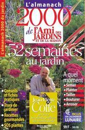 Almanach 2000 De L'Ami Des Jardins - Intérieur - Format classique