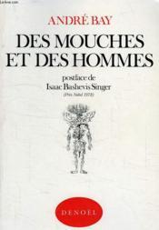 Des Mouches Et Des Hommes - Couverture - Format classique