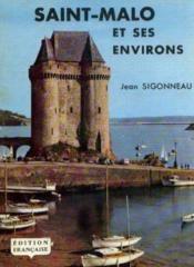 Saint Malo et ses environs - Couverture - Format classique