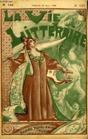 La Vieille. La Vie Litteraire. - Couverture - Format classique