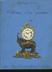 Collection D'Un Amateur. 8 Avril 1981. - Couverture - Format classique