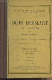 Le corps législatif jugé par lui-même - Esquisse historique de la législature de 1863-1869 - Couverture - Format classique