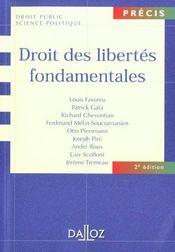 Droit des libertés fondamentales - Intérieur - Format classique