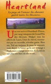 Heartland T.7 ; le champion brisé - 4ème de couverture - Format classique