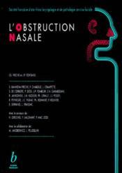 L obstruction nasale - Couverture - Format classique