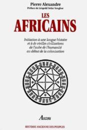 Les africains - Couverture - Format classique